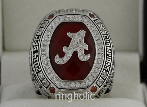 Alabama Crimson Tide Football 2014 SEC Championship Ring - ringholic  - 1