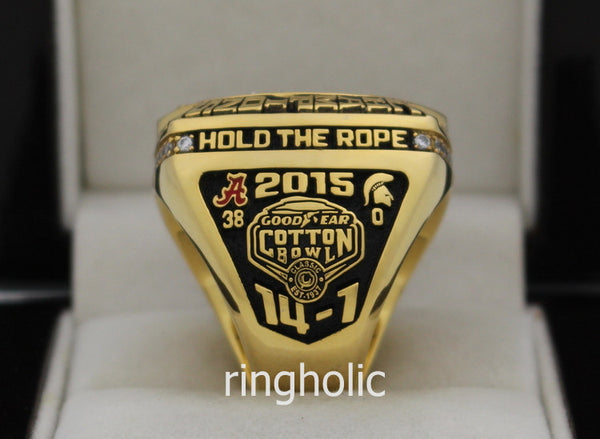 Alabama Crimson Tide Football 2015 National Championship Rings - ringholic - 5