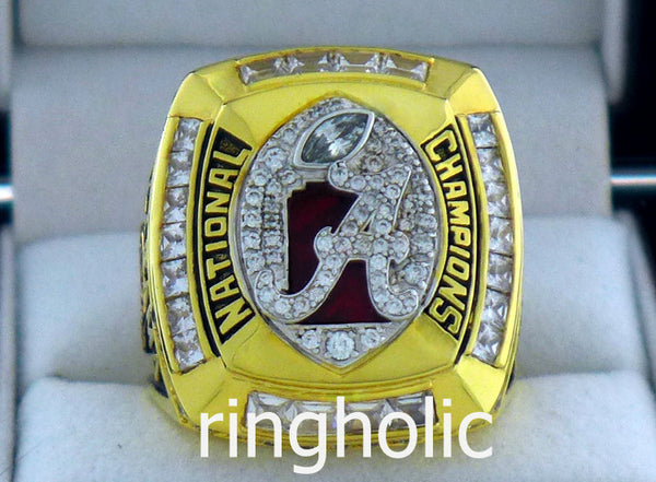 Alabama Crimson Tide Football 2011 National Championship Rings - ringholic  - 1