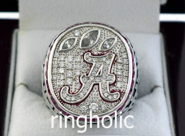 Alabama Crimson Tide Football 2012 NCAA National Championship Rings - ringholic  - 1