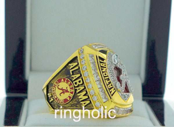 Alabama Crimson Tide Football 2011 National Championship Rings - ringholic  - 2