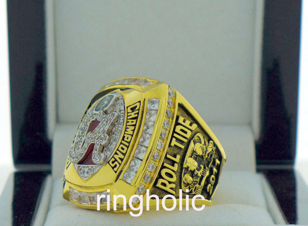 Alabama Crimson Tide Football 2011 National Championship Rings - ringholic  - 3