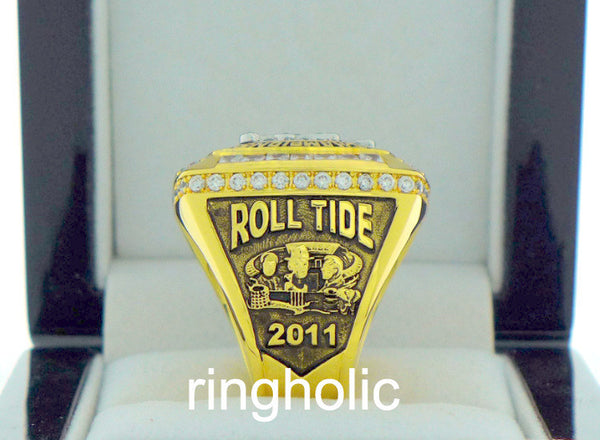 Alabama Crimson Tide Football 2011 National Championship Rings - ringholic  - 4