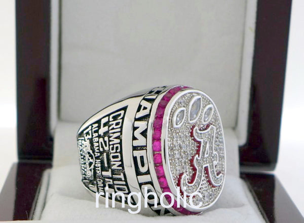 Alabama Crimson Tide Football 2012 NCAA National Championship Rings - ringholic  - 5