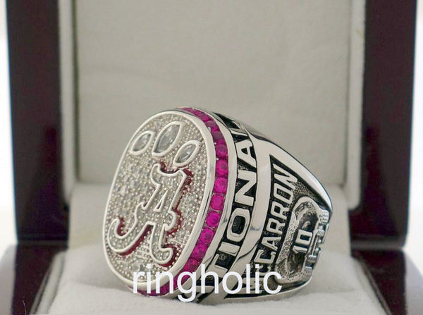 Alabama Crimson Tide Football 2012 NCAA National Championship Rings - ringholic  - 4