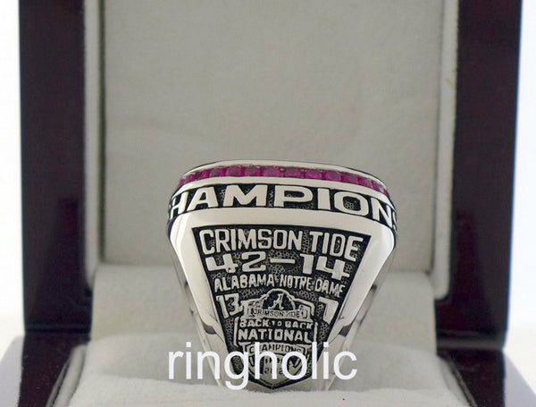 Alabama Crimson Tide Football 2012 NCAA National Championship Rings - ringholic  - 2