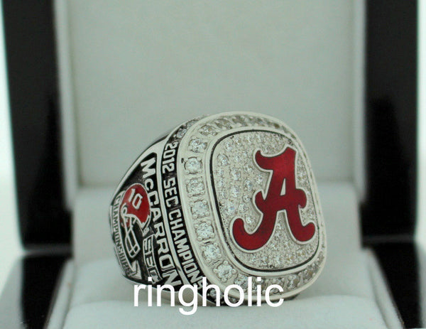 Alabama Crimson Tide Football 2012 SEC Champions Ring - ringholic  - 3