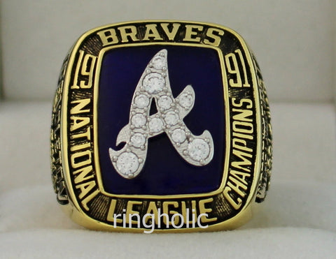 Atlanta Braves 1991 National League Championship Rings - ringholic  - 1