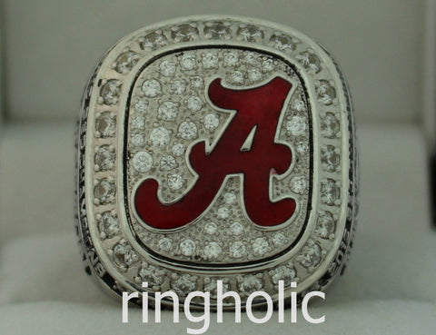 Alabama Crimson Tide Football 2012 SEC Champions Ring - ringholic  - 1