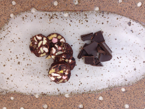 Easter Rocky Road with 90% Dark Chocolate