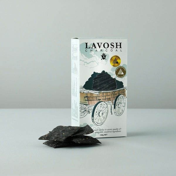 lavosh crackers charcoal