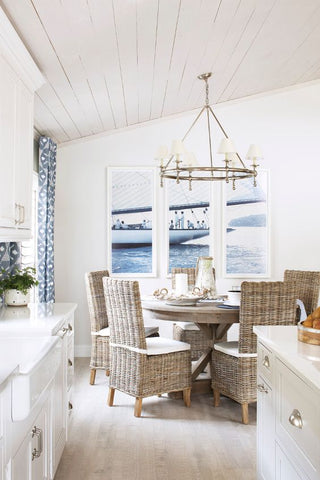 Coastal home styling how to create the perfect beach for Beach house designs gold coast