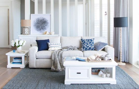 5 Essential Elements to a Hamptons Inspired Living Room