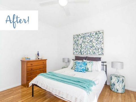 Property Styling Packages Before and After Pottsville Tweed Coast