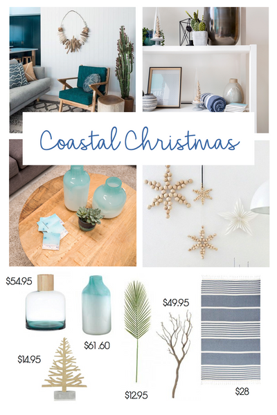 Coastal Christmas styling inspiration | Tailored Space Interiors