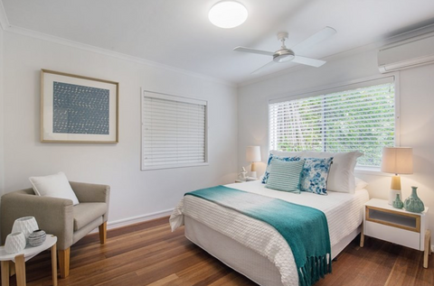 Currumbin Property Styling Furniture Hire Packages | Tailored Space Interiors | Bedding Hire