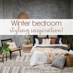 Winter bedroom styling & decorating ideas | Tailored Space Interiors, Gold Coast interior designers