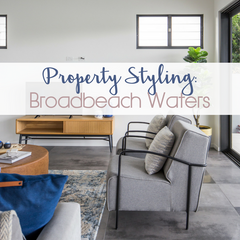Broadbeach Property Styling Case Study | Tailored Space Interiors, Furniture Hire Packages on the Gold Coast