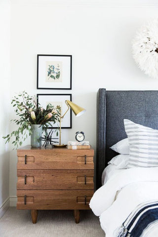Modern Bedroom Styling Ideas for 2018 - Upholstered Bedhead Inspiration