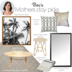Mother's Day Gift Ideas from Tailored Space Interiors!