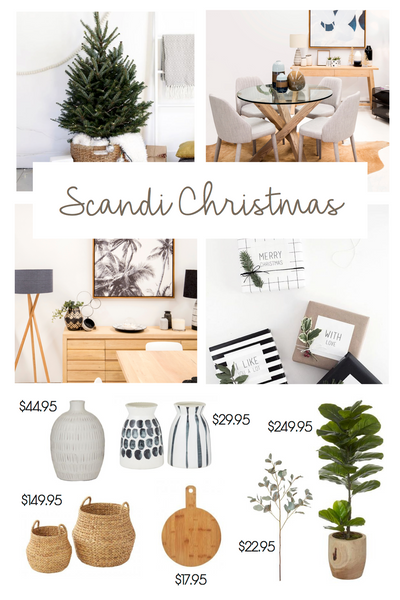 Scandinavian Christmas styling ideas and inspiration