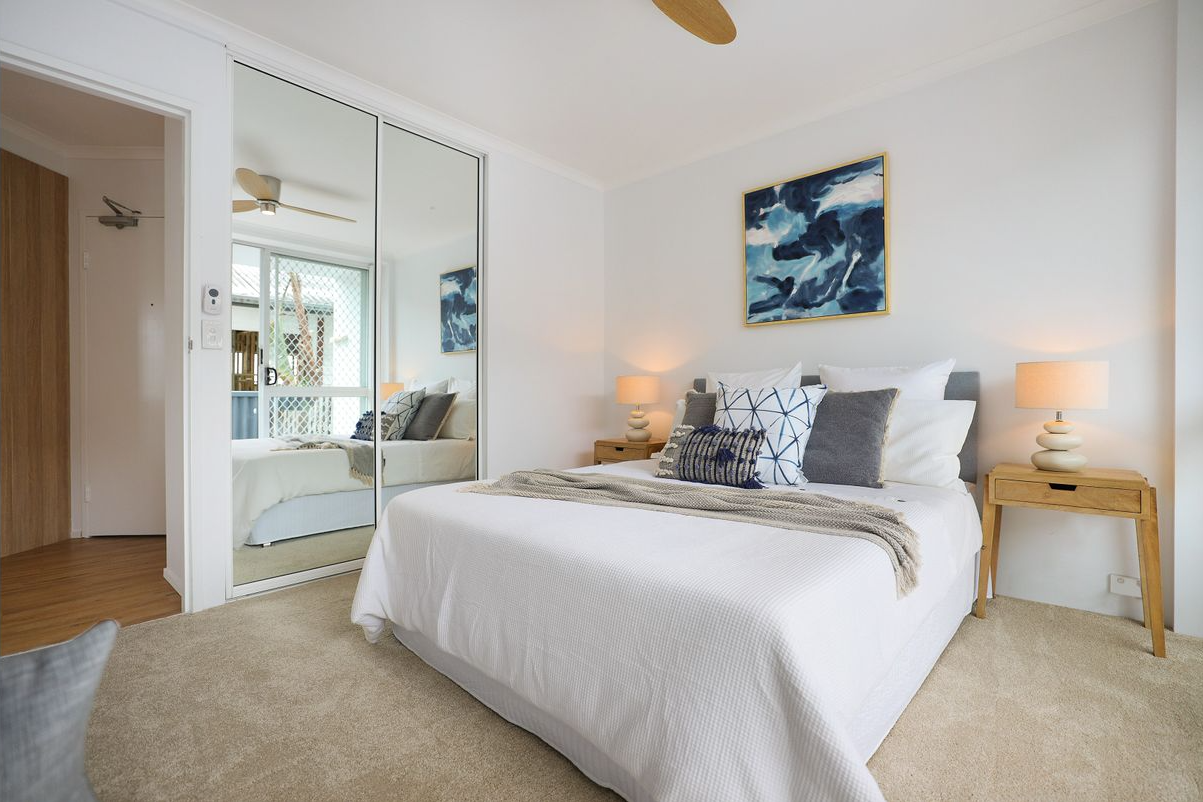 presale-property-styling-mermaid-beach-qld-guest-bedroom