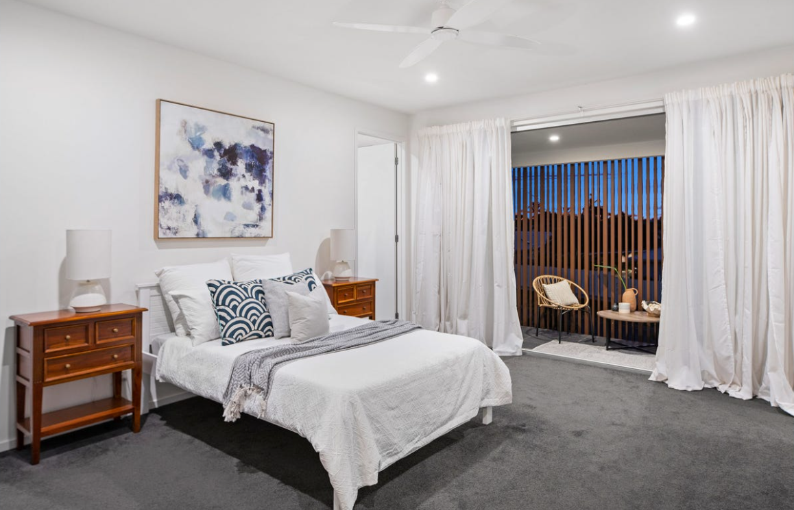 property-styling-burleigh-waters-qld-vintage-eclectic-bedroom-two