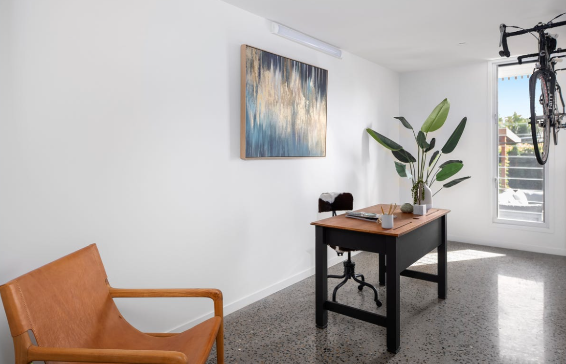 property-styling-burleigh-waters-qld-vintage-eclectic-office-study