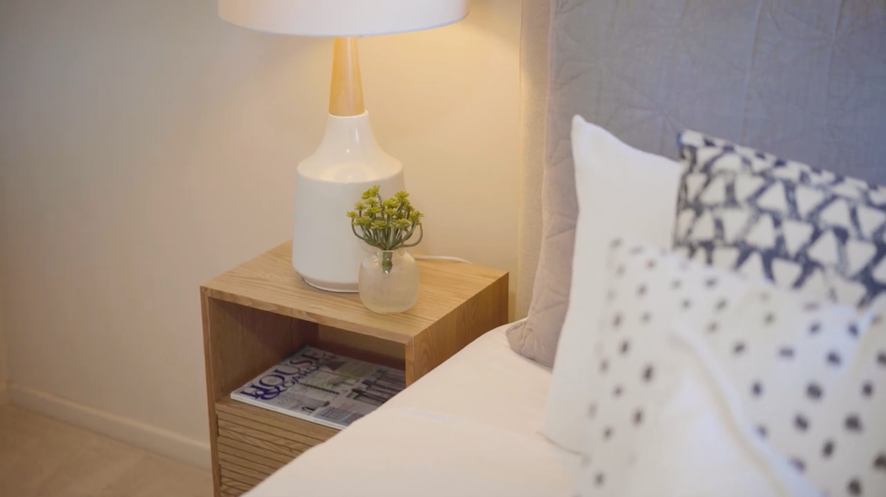 property-styling-nsw-kingscliff-master-bedroom-cosy-bedside-styling