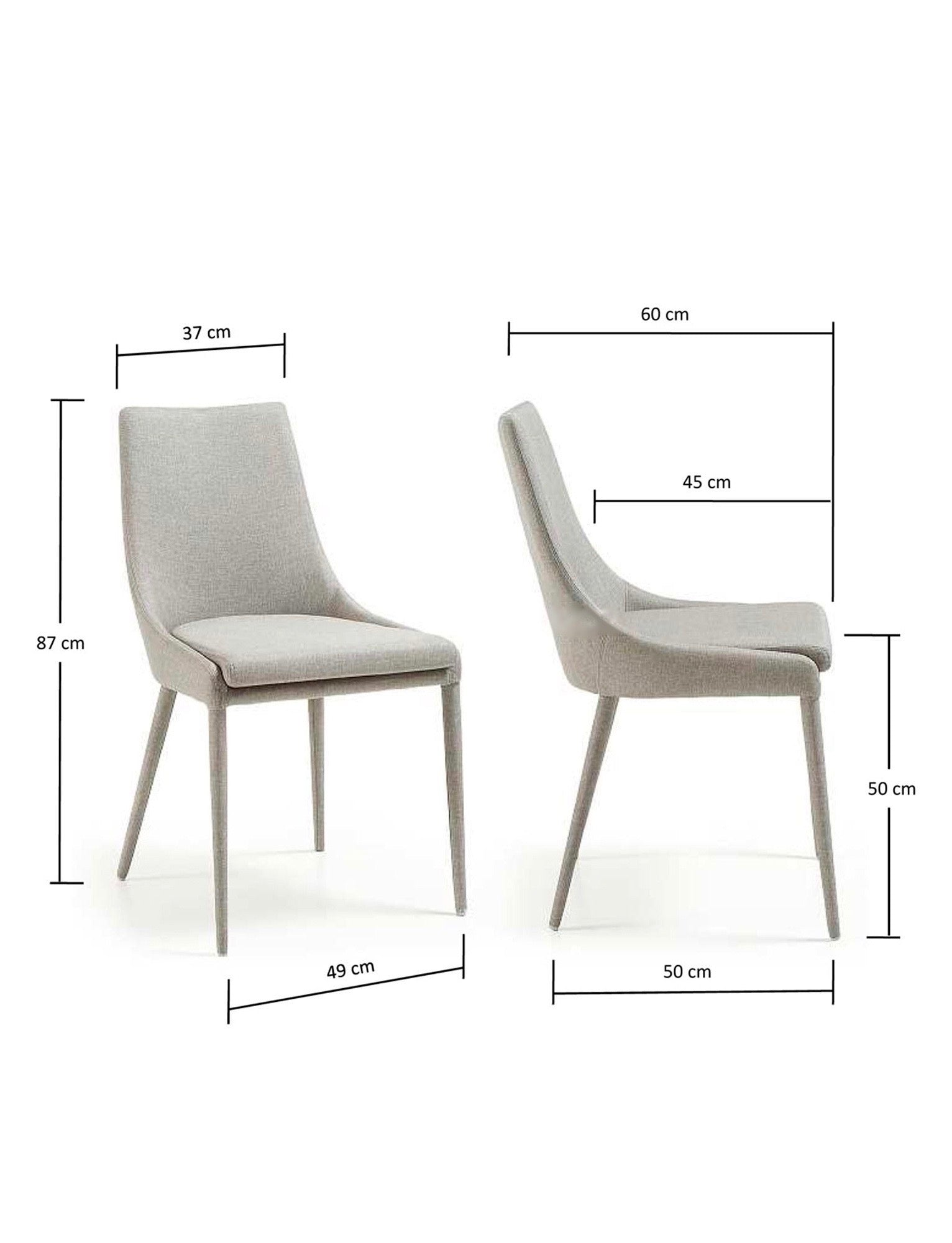 Dant Dining Chair - 2 Colours