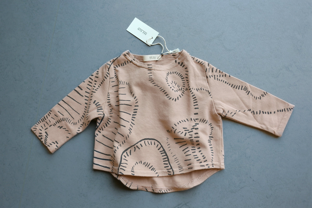 Kid's Dash Top, Clay