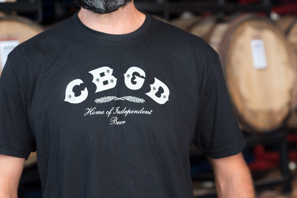 Clearance! - Mens CBGD T-shirt.  Back by popular brewer demand!