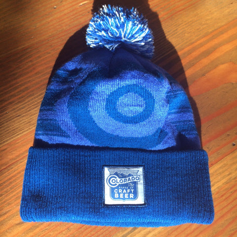State Of Craft Beer Pom Beanie