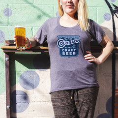 Ladies State Of Craft Beer T-shirt