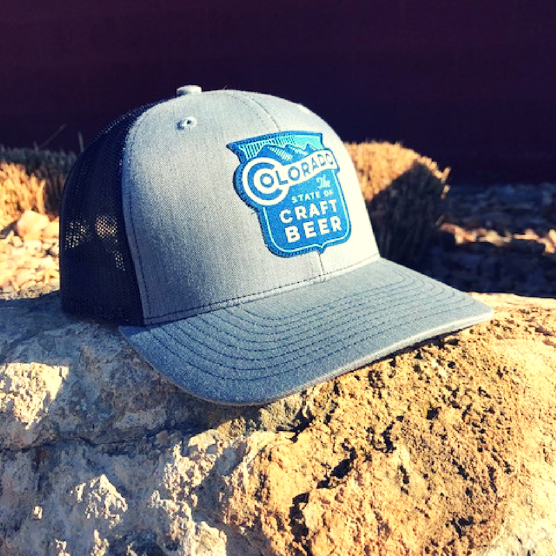 """Colorado: The State of Craft Beer"" Trucker Hat"