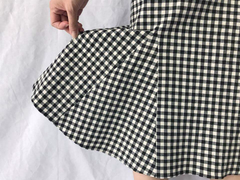 Checkered Mermaid Skirt (70,000원)