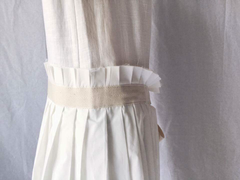 Arpe Dress in Ivory (Also Available in Navy)  (98,000원)