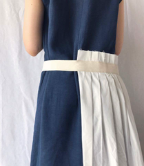 Arpe Dress in Navy (Also Available in Ivory) (98,000원)
