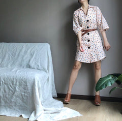 Shirt Dress in Creme Orange (86,000원)