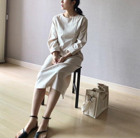 Hour Dress in Ivory (98,000원)