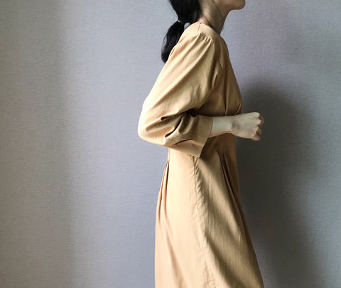 Hour Dress in Burnt Beige (98,000원)