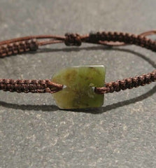 New Zealand Greenstone Chip Bracelets