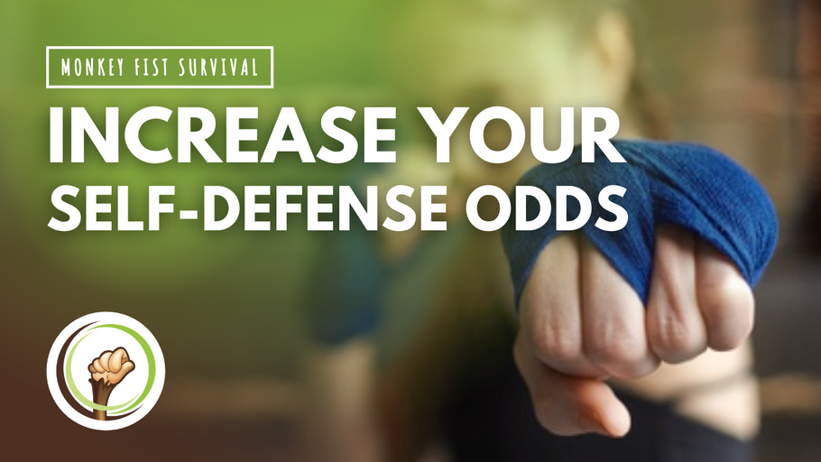 Four Ways to Increase Your Self-Defense Odds