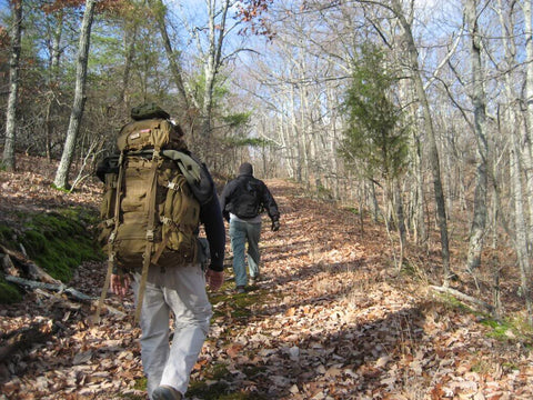 bug out bags and taking a hike with a friend