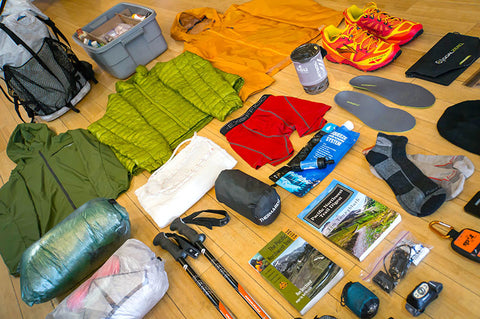 ultimate thru hiking trail gear and equipment