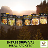 FREE SHIPPING OCU - 2 Peak Refuel Premium Freeze-Dried Survival Meals