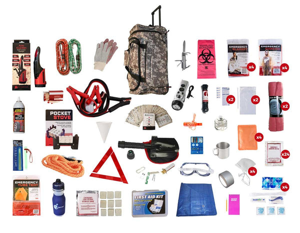 Family Standard Auto Emergency Survival Kit