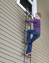 Two-Story Fire Escape Ladder