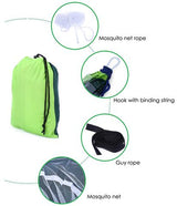 2-Person Outdoor Mosquito Net Hammock