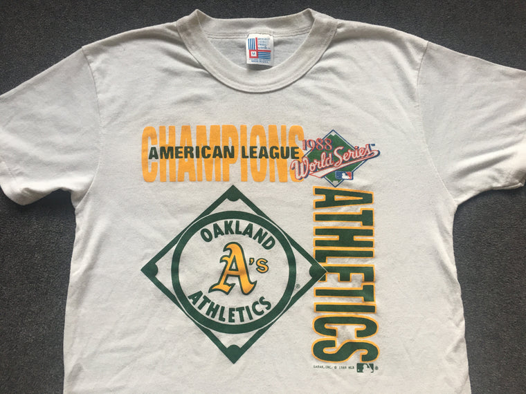 1988 Oakland A's World Series shirt - S / M